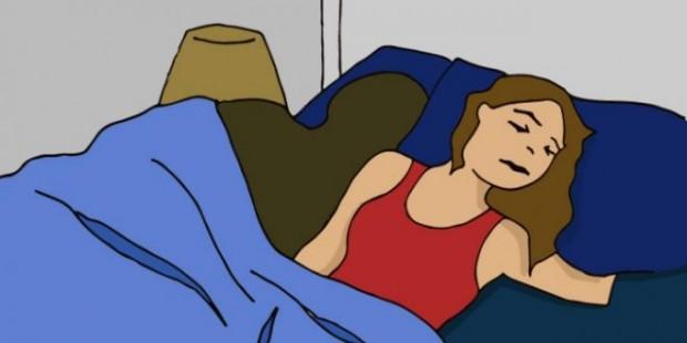 zena-krevet